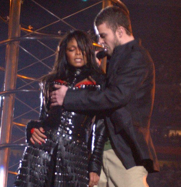 Janet Jackson et Justin Timberlake au Super Bowl