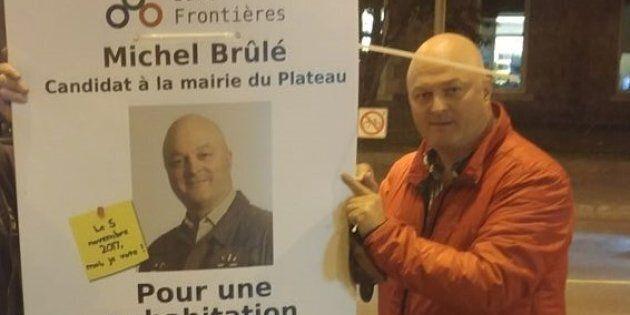 Michel Brûlé se retire de la course à la mairie du