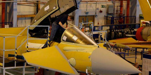 Airbus n'attend que l'appel d'offres pour proposer ses avions de chasse Eurofighter Typhoon à