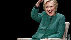 Hillary Clinton fait des blagues à propos de son déguisement