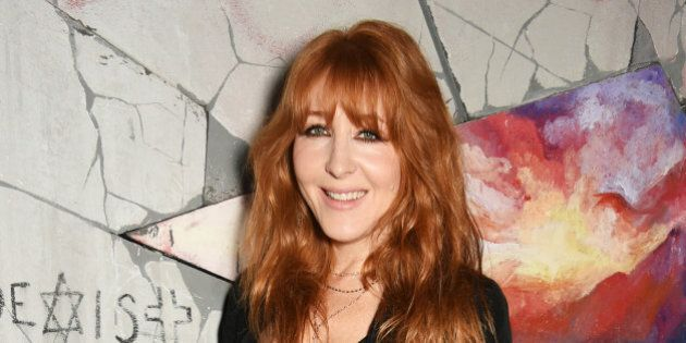 LONDON, ENGLAND - SEPTEMBER 19: Charlotte Tilbury attends LOVE Magazine and Marc Jacobs LFW Party to...