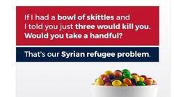 Le fils de Trump compare les réfugiés à du poison mortel