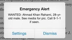 États-Unis: nouvelles alertes mobiles instannées en cas