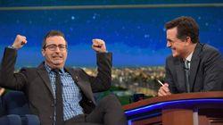Stephen Colbert et John Oliver en vedette à une soirée post