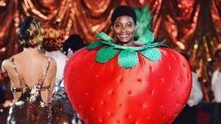 Semaine de mode de Londres: les fruits envahissent le défilé Charlotte