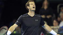Andy Murray a eu un problème de «bijoux de famille» à la Coupe