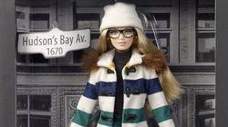 La Baie d'Hudson et Mattel dévoilent une nouvelle Barbie exclusive