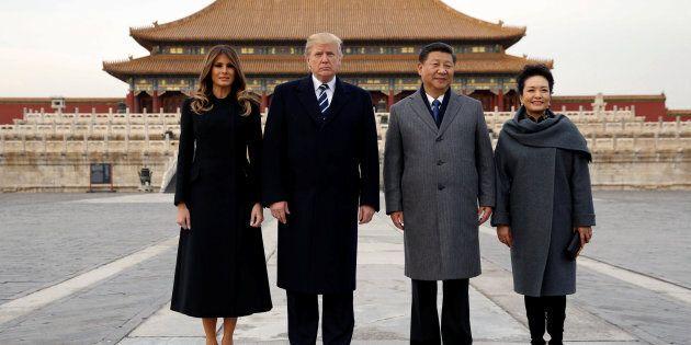 Donald Trump amorce un séjour en