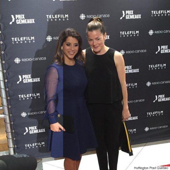Gala Gémeaux 2016: Sophie Cadieux est une vraie beauté au