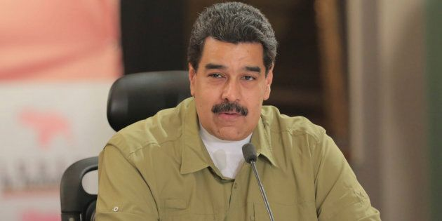 Le président vénézuélien Nicolas