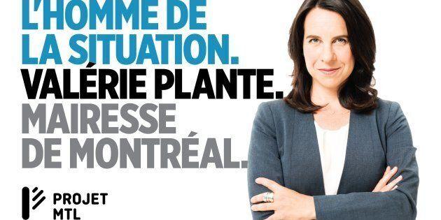 Les propos de madame Plante expriment qu'on ne peut avoir confiance en une femme, car elle est incapable de voir les problèmes ni de les régler!