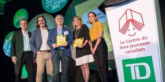 Larry Tremblay lauréat du prix TD 2017 de littérature