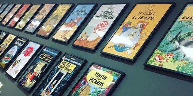 L'univers d'Hergé mis aux