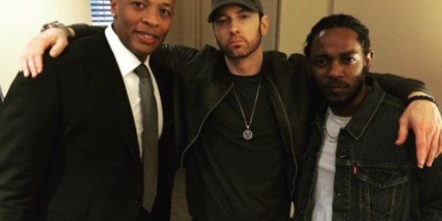 Le rappeur Eminem de retour en duo avec