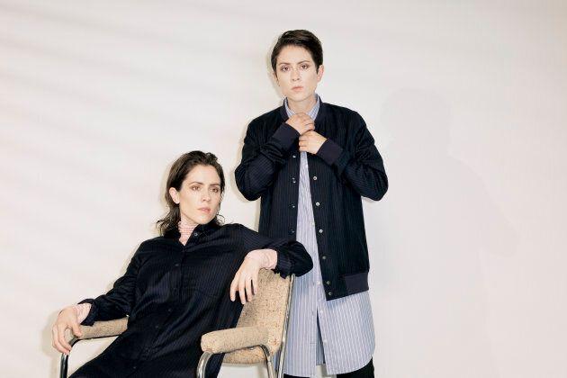 Tegan and Sara s'associent à Frank & Oak pour une capsule
