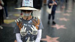 Manifestation à Hollywood pour dénoncer les abus