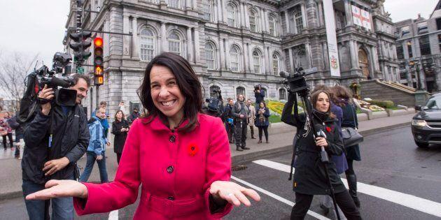 Une fois l'adrénaline du moment de victoire passée, la nouvelle mairesse de Montréal devra faire face...