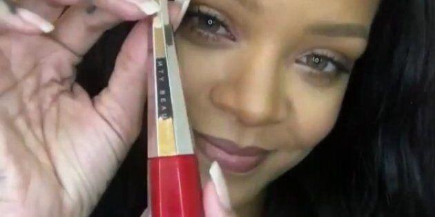 Le nouveau rouge à lèvres Fenty Beauty de Rihanna est un succès