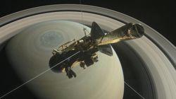 La sonde Cassini s'est désintégrée en plongeant vers