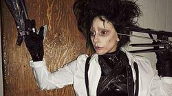 Lady Gaga méconnaissable dans son déguisement d'Halloween... à