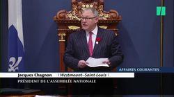 Le président de l'Assemblée nationale défend Guy