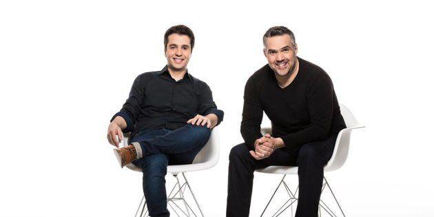 Dominic et Martin, 25 ans