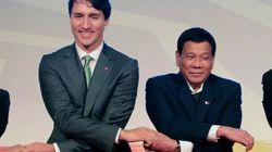 Justin Trudeau reçoit des félicitations pour son intervention aux