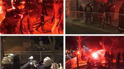 Une «milice d'extrême droite» attaque des grévistes étudiants en pleine nuit en