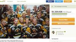 Des millions pour les victimes de l'accident des Broncos de
