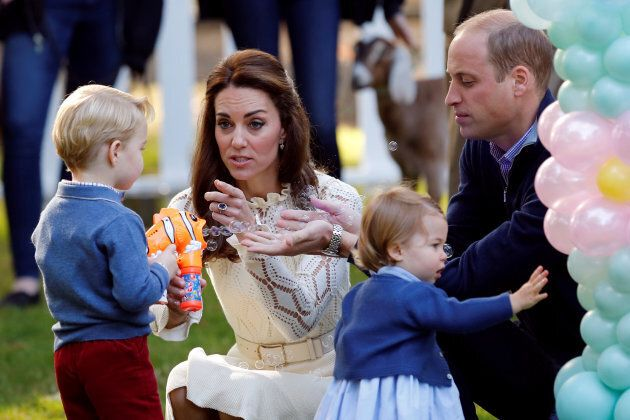 Kate Middleton a accouché d'un petit