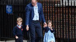 Charlotte et George arrivent à l'hôpital pour rencontrer leur petit