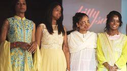 Inde: des victimes d'attaques à l'acide à un défilé haute