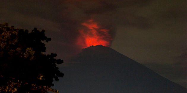 Volcan Agung : la situation est susceptible