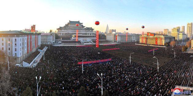La Corée du Nord célèbre en grande pompe son dernier tir de