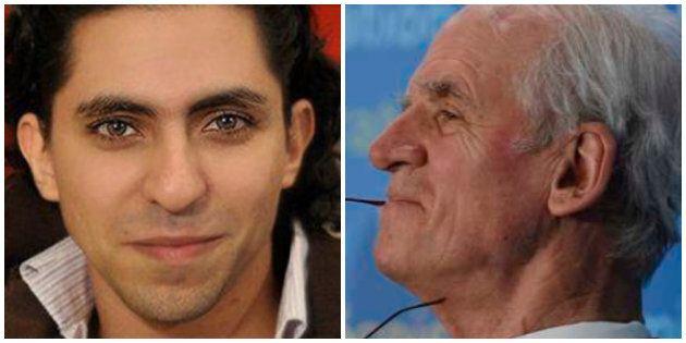 Raif Badawi et Charles Taylor