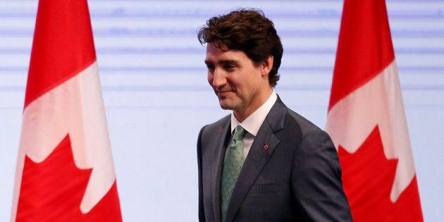 Justin Trudeau en route pour une visite officielle en