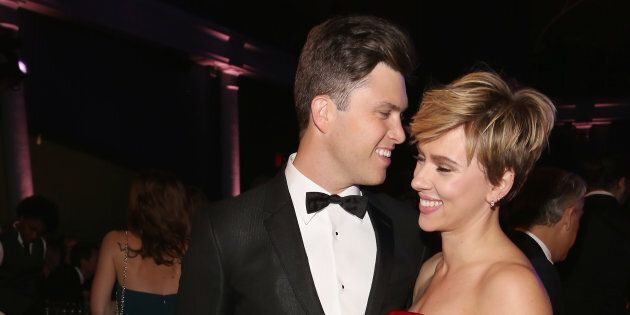 Scarlett Johansson est en couple avec Colin