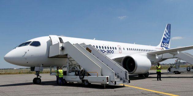 Le nouveau Airbus A220-300 remplacera la famille CSeries de
