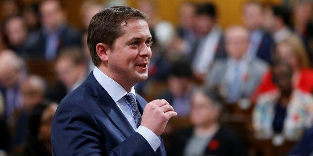 Le chef du Parti conservateur, Andrew