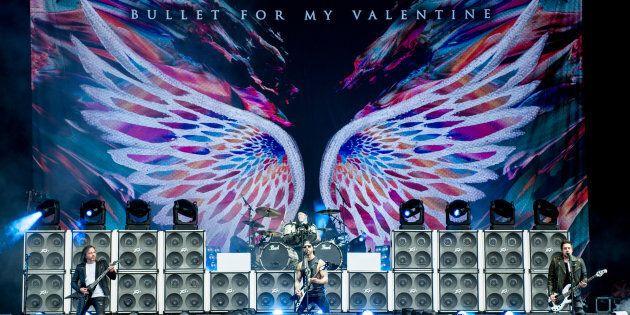 Photo d'archives de Bullet For My Valentine.
