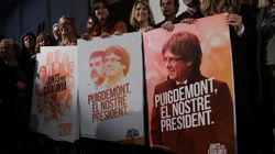 Maintien en détention de quatre dirigeants catalans