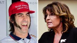 Piégée, Sarah Palin dénonce l'humour «pervers» de Sacha Baron