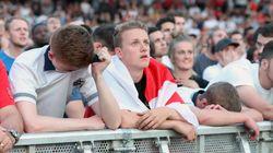 Les Anglais s'effondrent face à la