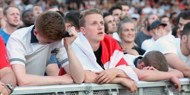 Coupe du monde 2018: l'Angleterre n'est pas à la hauteur contre la Croatie en