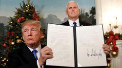 Washington reconnaît Jérusalem comme la capitale