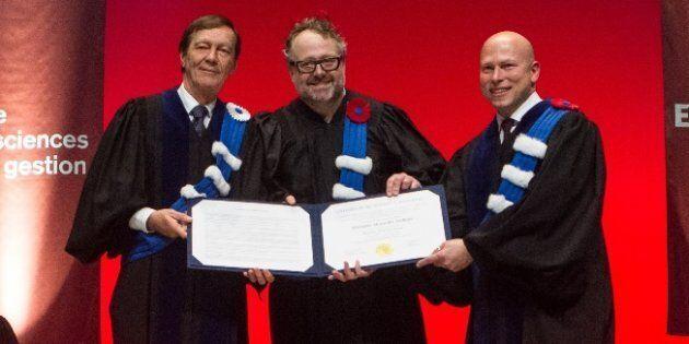Alexandre Taillefer nommé docteur honoris causa de