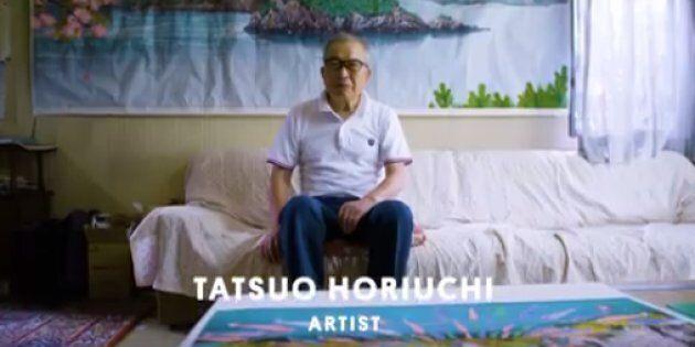 Ce Japonais fait des peintures avec le logiciel
