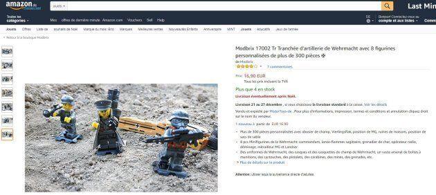 De faux Lego nazis en vente sur