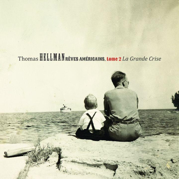Thomas Hellman a choisi une vieille photo de famille pour mettre sur la pochette de l'album. On y voit son père et son grand-père avec au loin un traversier.