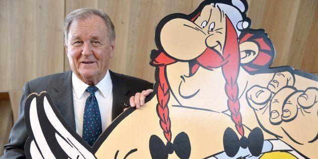 Une vente de dessins d'Uderzo suspendue après une plainte du